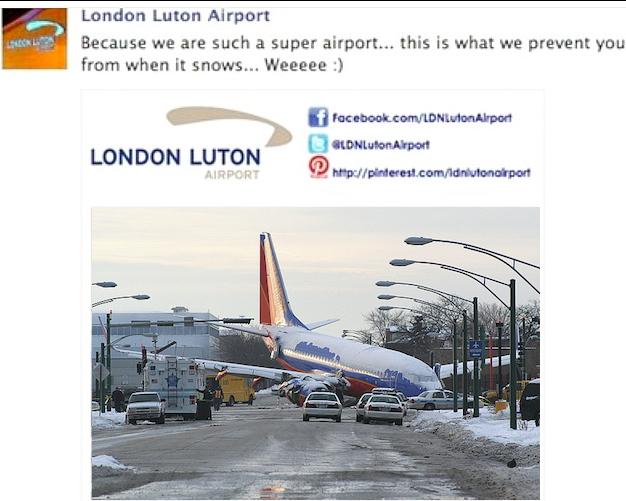 Luton Plane Crash