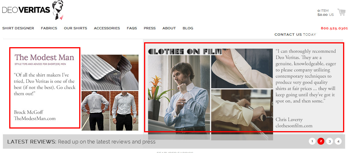 DeoVeritas.com – Design Your Own Custom Dress Shirt Online