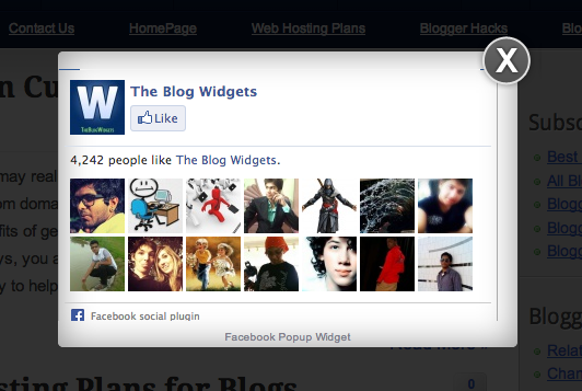 Via the Blog Widgets