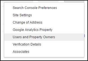 How To Manage Owners, Users and Associates in Google's Search Console