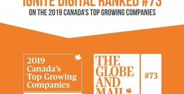 Globe and Mail's Top 400 Canadian Growing Companies